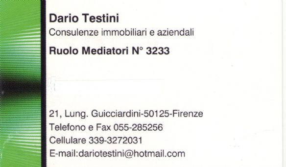 Dario Testini Consulenze Immobiliari e Aziendali