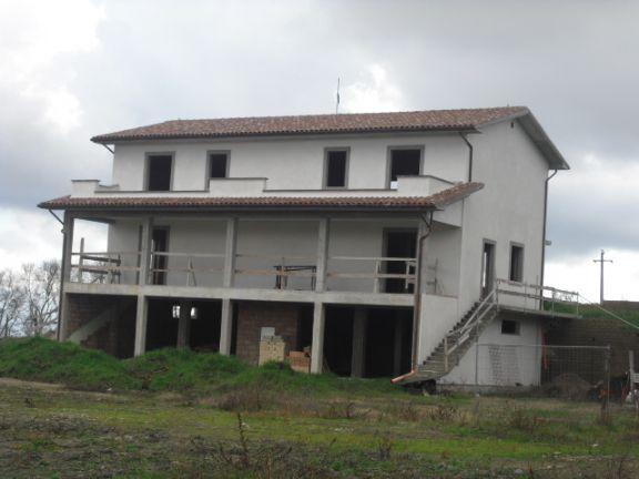 Bifamiliare, Montefiascone, in nuova costruzione