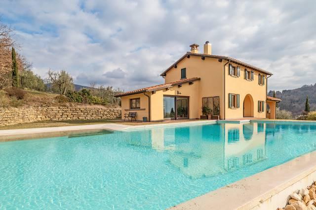 Villa in Località Campriano, Chiassa-tregozzano, Arezzo