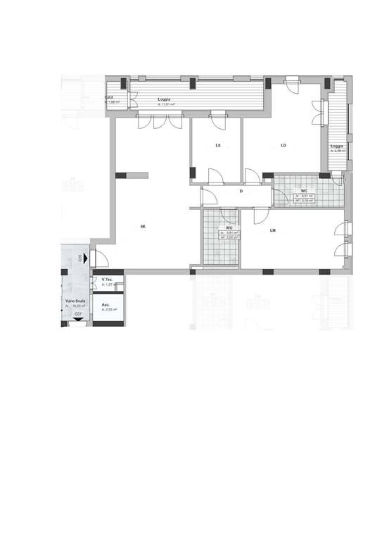 Nuova costruzione in Via Montescaglioso, Periferia Sud, Matera