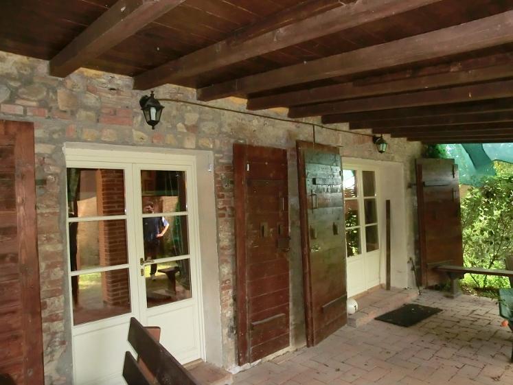 Rustico casale, La Chientina, Terricciola, ristrutturato