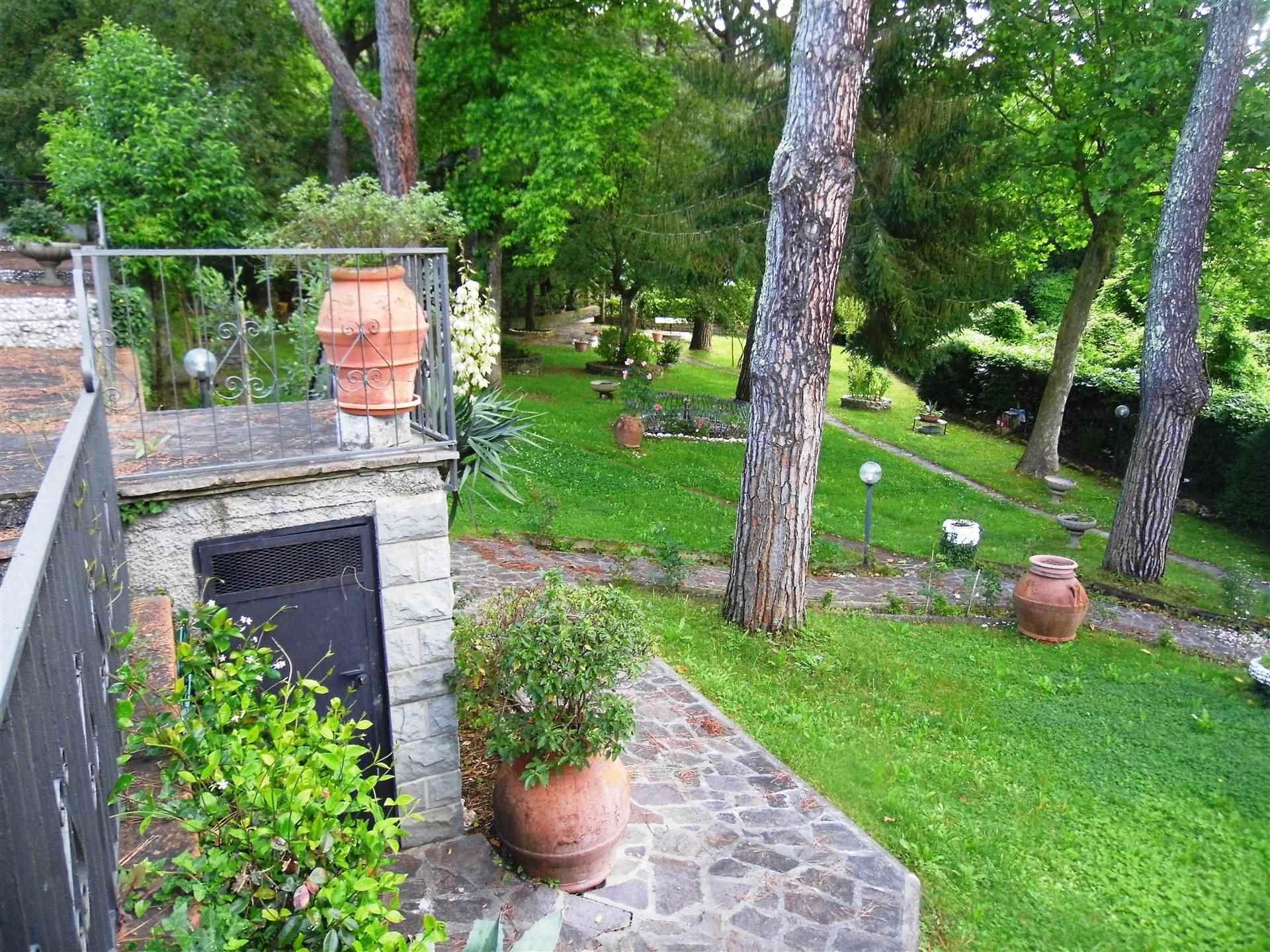 giardino con alberi di alto fusto - Rif. 3/415