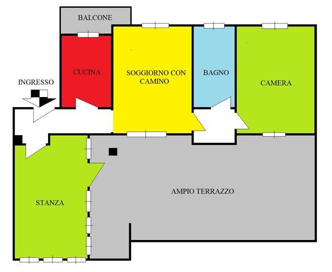 Attico in vendita sesto san giovanni attico vendita sesto for Piscina olimpia sesto san giovanni nuoto libero