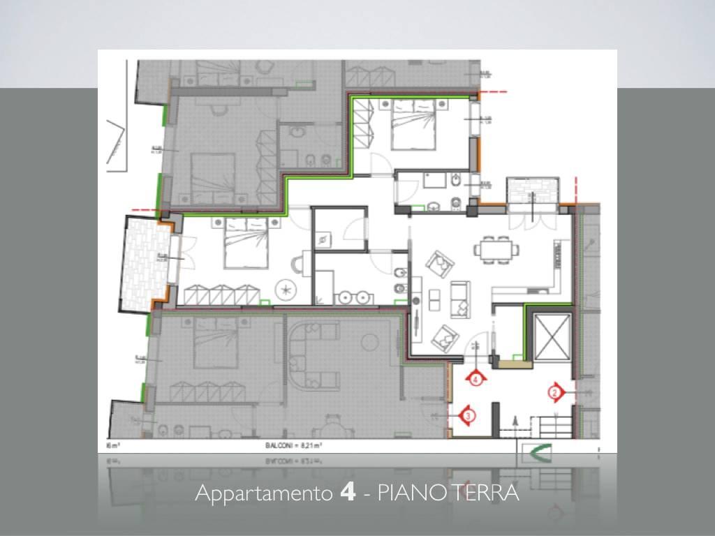 Trilocale, Lungarni, Pisa, in nuova costruzione