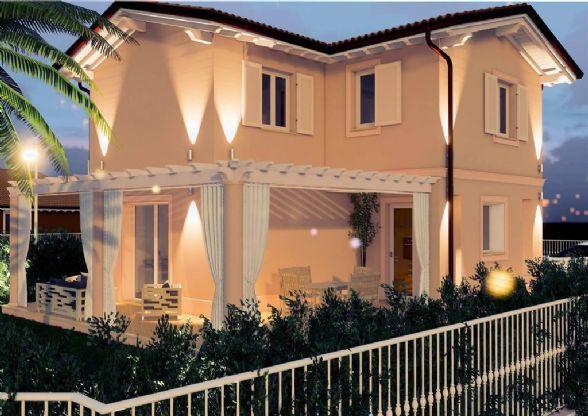 Villa, Pietrasanta, in nuova costruzione