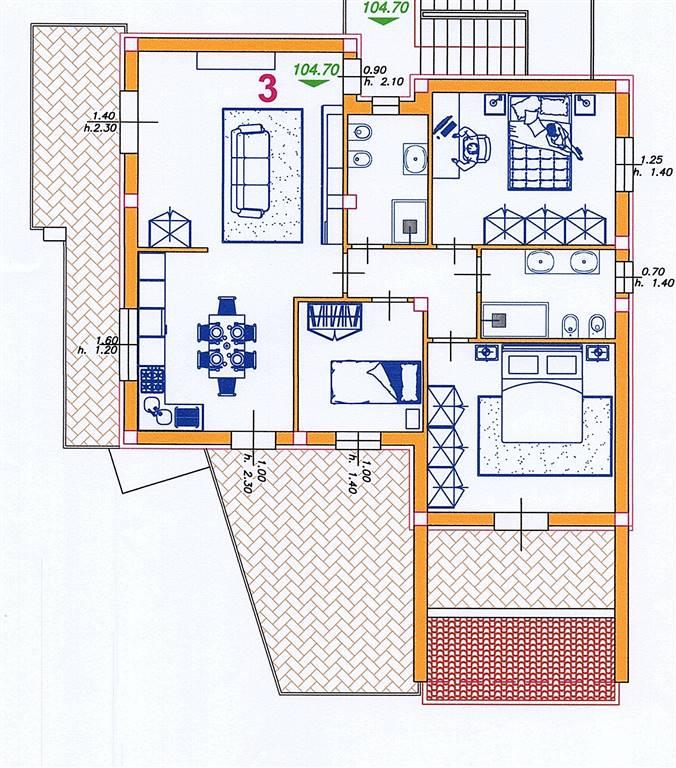Appartamenti Trilocali In Vendita A Castelfidardo Cambiocasa It