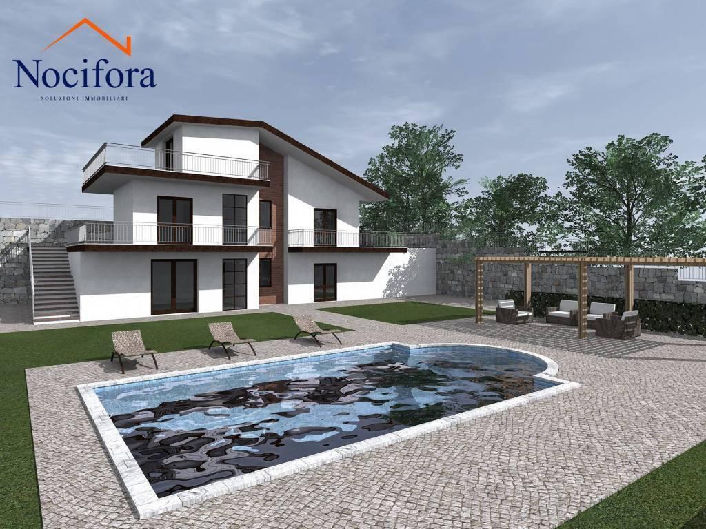 Villa, Piedimonte Etneo, in nuova costruzione